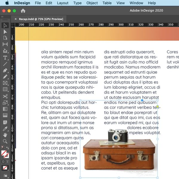 Introduction to InDesign training course - digi-training