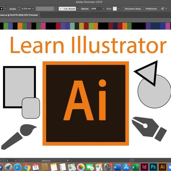 Beginner's course to learn Adobe Illustrator