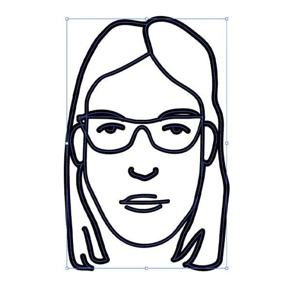 Live trace in Adobe Illustrator
