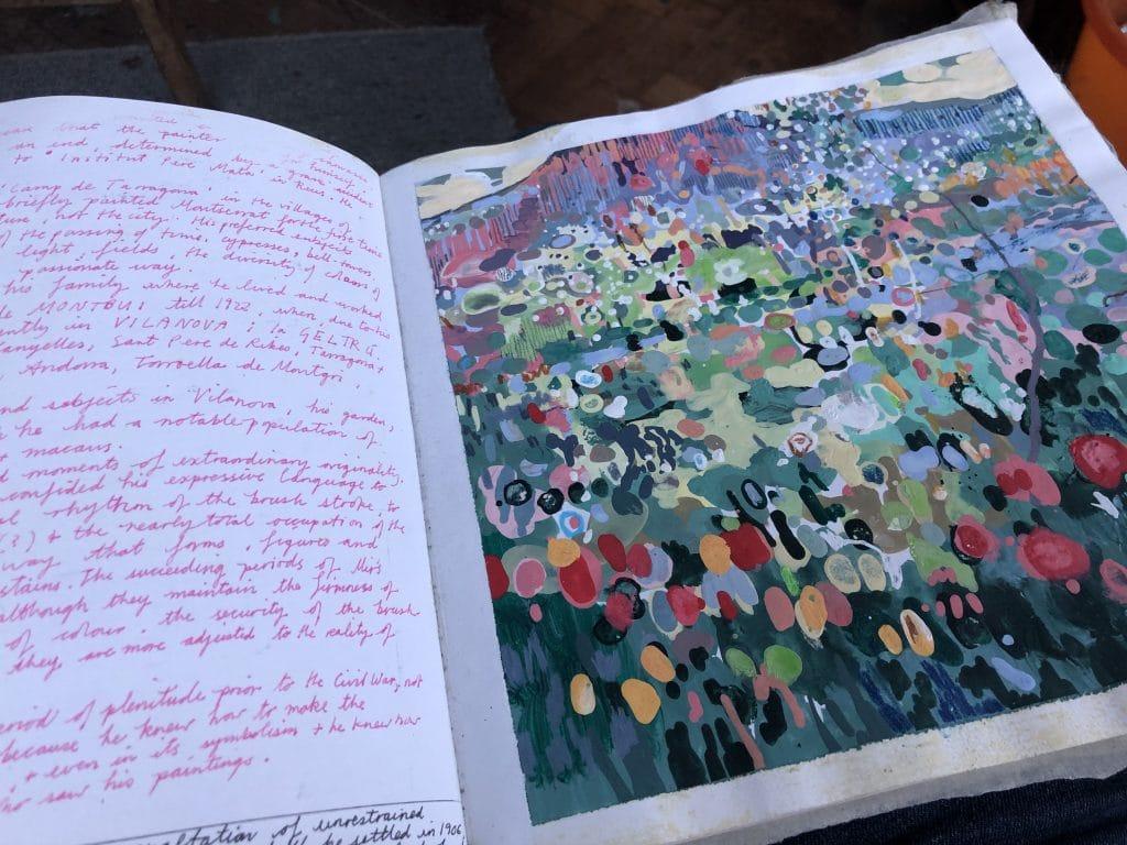 Julian Vilarubi Spanish sketchbook