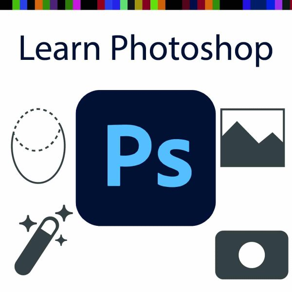 Learn Photoshop graphic